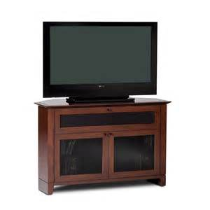 tv stands 50 inch bdi novia series corner tv stand for 26 50 inch screens