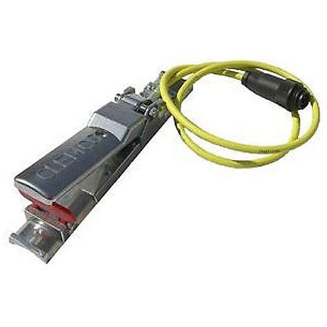 wandle mit kabel und schalter sicherheitsschalthebel elektrisch mit kabel totmann