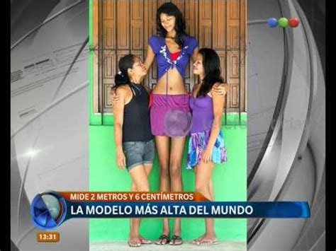la mujer del cultivador b01grknya4 la mujer m 225 s alta del mundo telefe noticias youtube
