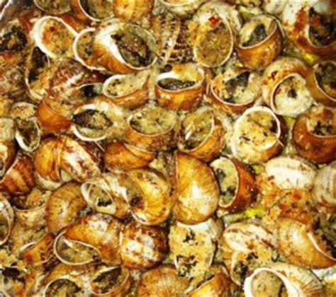 cucinare lumache di terra lumache alla calabrese piatti tipici calabresi