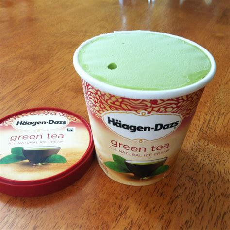 membuat ice cream green tea ice cream review h 228 agen dazs green tea