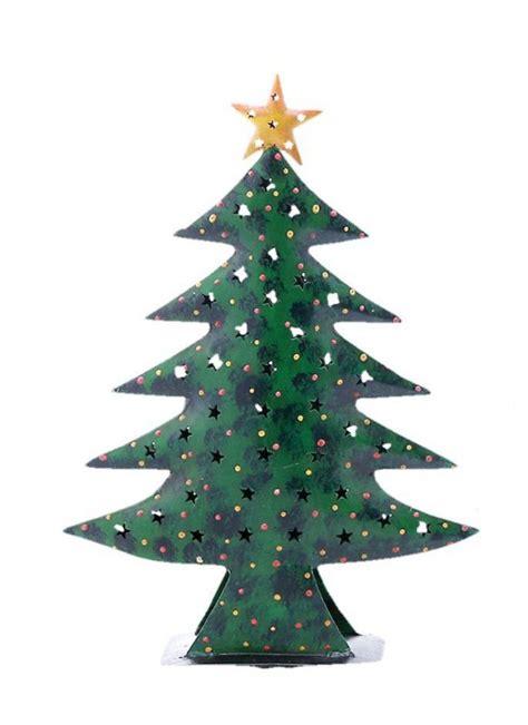 weihnachtsbaum baum metall gr 252 n mit stern innenfach f 252 r