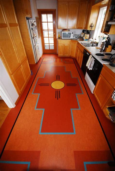Paint Linoleum Floor Kitchen by Best 25 Linoleum Kitchen Floors Ideas On