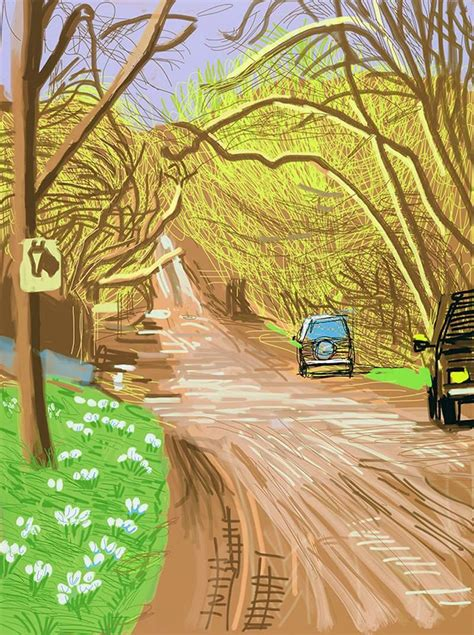 david hockney chance to see david hockney s ipad doodles the octogenarian artist fearlessly embraces tech to