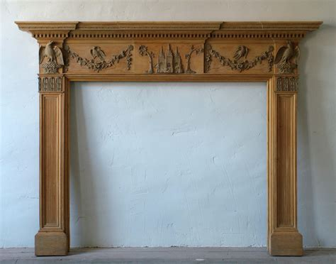 antique georgian fireplace no 4 thistle