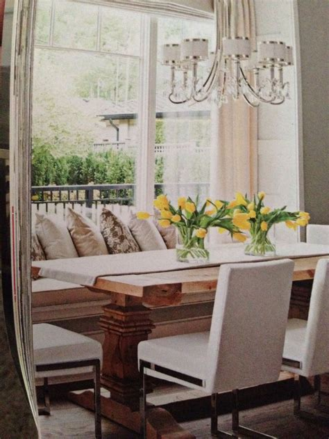 Dining Room Window Seat pin by newton on kitchen