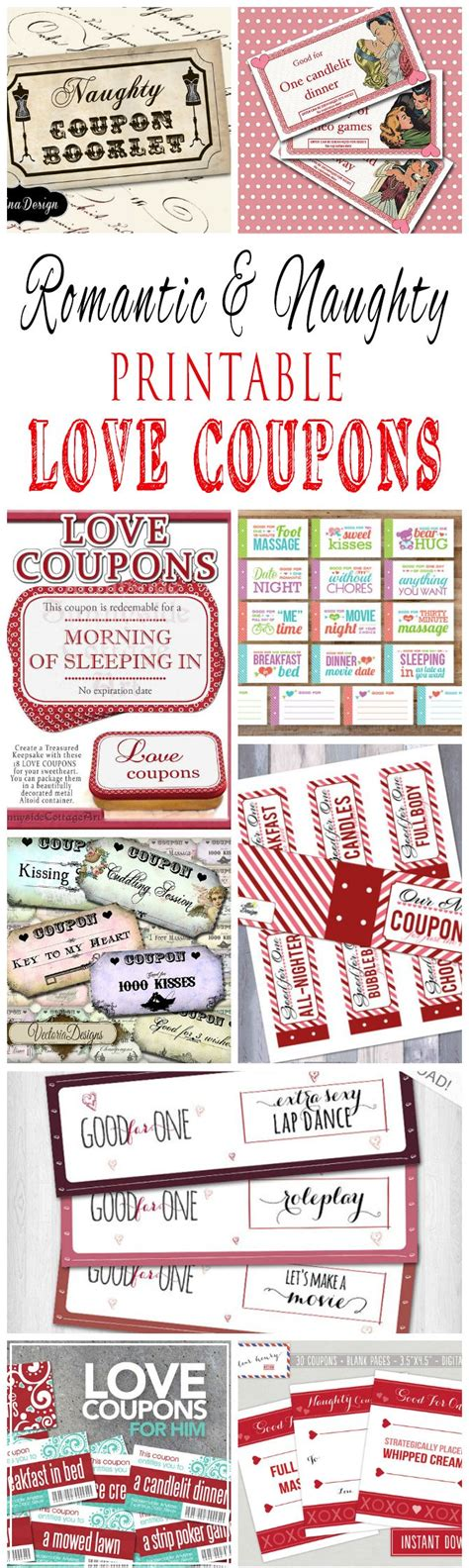 printable love coupons uk romantic and naughty printable love coupons for him