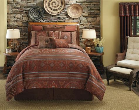 bedroom ensembles southwest style comforters and native american indian