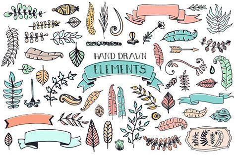 free doodle design elements 56 doodle decoration elements illustrations creative