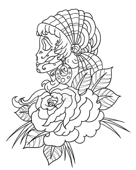 coloring pages of mexican flowers the world s catalog of ideas