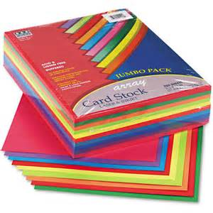 pacon array card stock 65lb letter 250 sheets walmart