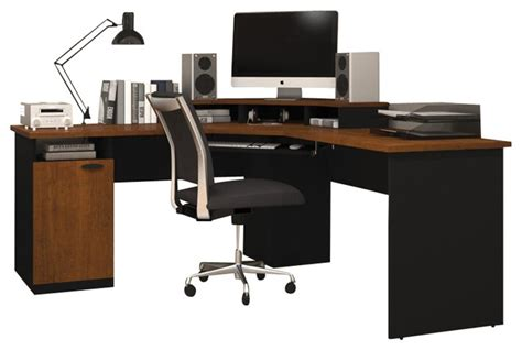 Bestar Hton Corner Desk Hton Corner Desk 28 Images Brown Corner Desk Parson Corner Desk With Shelving Unit 42 Inch