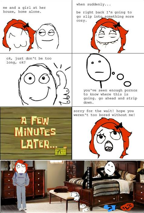 Rage Girl Meme - i need to stop watching so much porn weknowmemes
