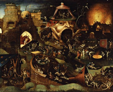 libro bosch and bruegel from 13 renaissance paintings of hell that are deeply disturbing