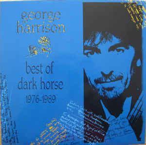 george harrison best album george harrison best of 1976 1989 vinyl lp
