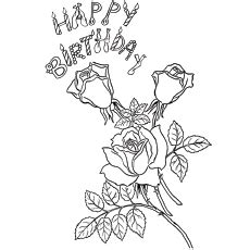 happy birthday best friend coloring pages っhappy birthday coloring pages pages free printables