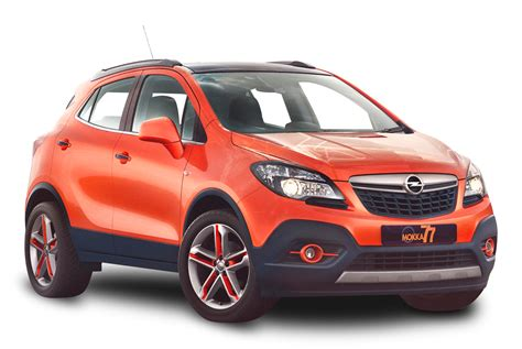 opel orange orange opel mokka car png image pngpix
