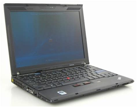 Laptop Lenovo Thinkpad X200 lenovo thinkpad x200 review notebookreview