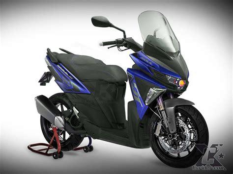 Lu Hid Gt 125 cxrider konsep modifikasi yamaha soul gt125 bluecore