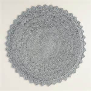 circular bath mat gray bath mat world market
