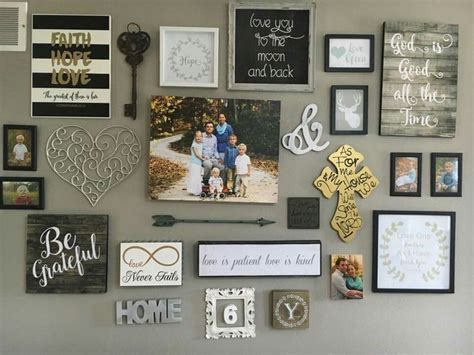wall decor collage best 25 rustic gallery wall ideas on pinterest