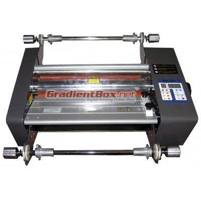 mesin laminating roll untuk laminasi dingin dan panas a3