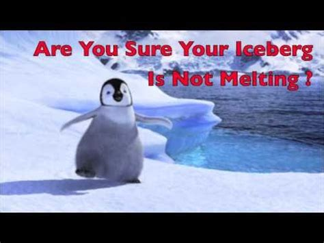 kotter our iceberg is melting video our iceberg is melting youtube