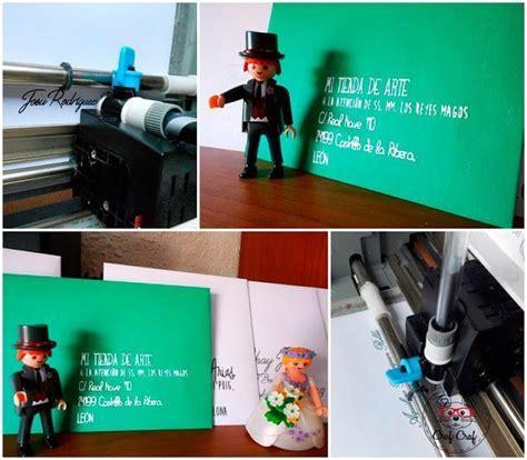 5 trucos para escribir una 5 trucos para escribir en sobres con tu silhouette craf craf