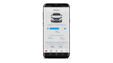Nissan Leaf App by Features New Nissan Leaf Electric Car Nissan