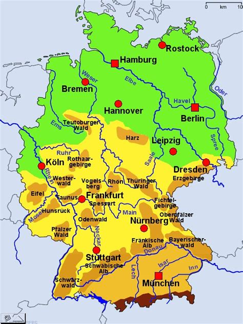 gebirgskarte deutschland ende juli anfang august