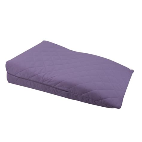 bed wedge pillow for legs lilac orthopaedic contour leg raise pillow foot rest
