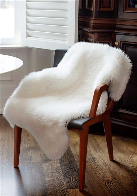 fur dining chair covers ivory faux fur chair cover faux fur home d 233 cor