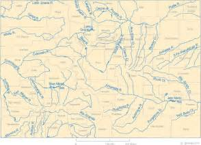 map of colorado lakes streams and rivers