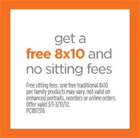 jcpenney portrait coupons printable no sitting fee jcpenney portraits free 8 215 10 no sitting fees kollel