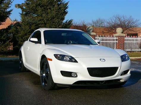 all car manuals free 2006 mazda rx 8 lane departure warning buy used 2006 mazda rx 8 6 speed manual white in brooklyn michigan united states for us