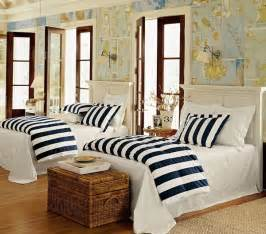 Nautical Bedroom Decor by Nautical Theme Style Interior Decor 10 Interiorish
