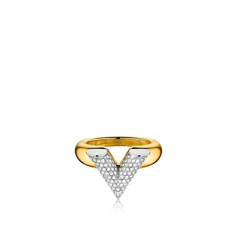 essential v strass ring accessories louis vuitton