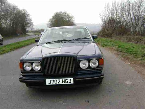 bentley autos for sale bentley 1992 mulsanne s auto blue car for sale