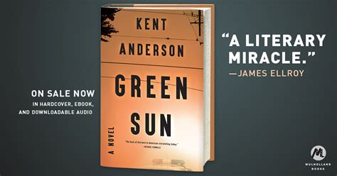 midnight sun blood on snow hardcover target green sun by kent anderson hachette book group