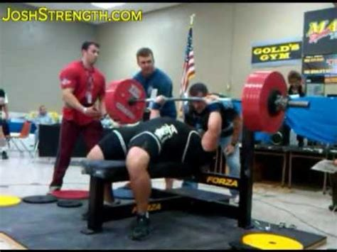 world bench press record raw jeremy hoornstra all time raw world record bench press
