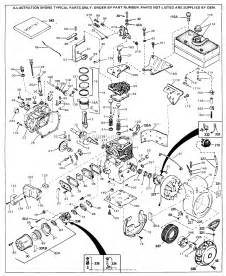 tecumseh h70 130064 parts diagram for engine parts list 1