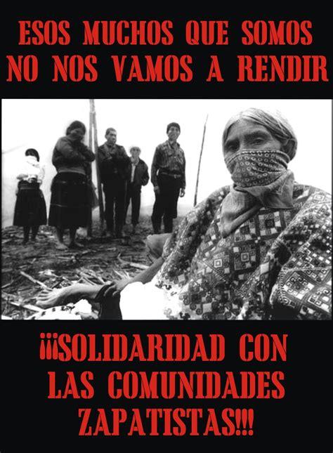 imagenes del movimiento zapatista de liberacion nacional materiales para la liberaci 243 n ellos y nosotros