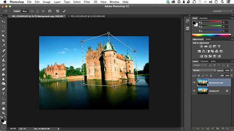 adobe photoshop adobe photoshop cc tutorial perspective warp