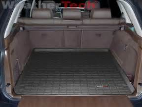 Cargo Mat For 2013 Bmw X5 Weathertech Cargo Liner Trunk Mat Bmw X5 2007 2013 Black