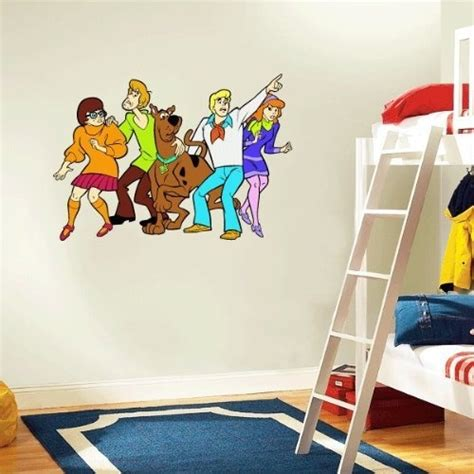 scooby doo wall stickers scooby doo wall decals 2017 grasscloth wallpaper