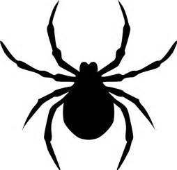 silhouette spider clipart cliparting