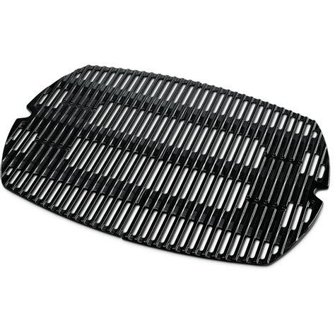 weber 7646 porcelain enamel cast iron grilling grates for q 300 3000 series gas grills