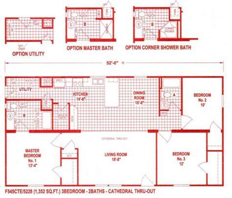wide homes floor plans 2017