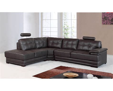 real leather sectionals genuine leather sectional set 33ls101