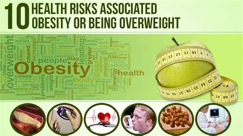 10 Causes Of Obesity by 10 Health Risks Associated With Obesity Or Being